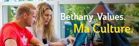 Bethany. Values. Ma Culture.