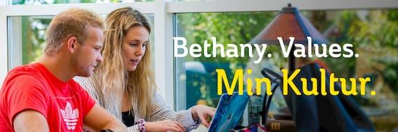Bethany. Values. Min Kultur.