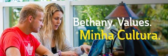 Bethany. Values. Minha Cultura.