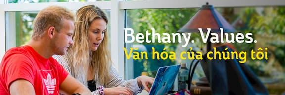 Bethany. Values. Văn hóa của chúng tôi