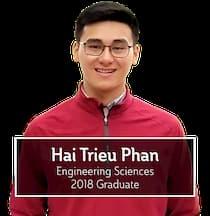 Hai Trieu Phan, Engineering Sciences, 2018 Graduate