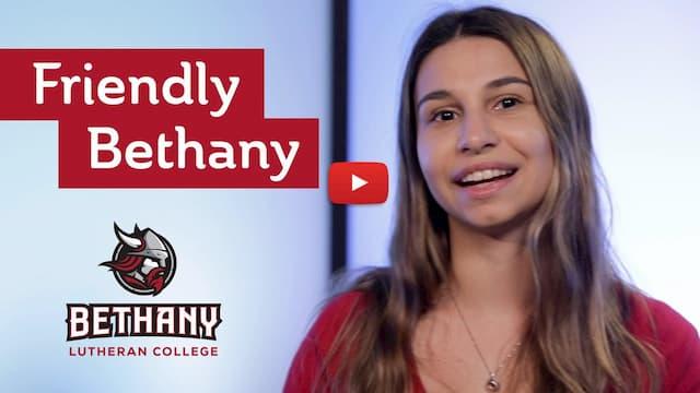 Start video on Youtube: Friendly Bethany